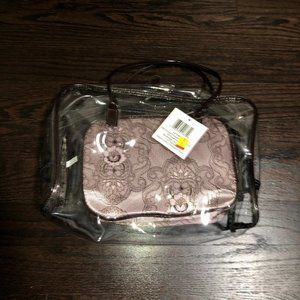 NWT - Clear Bag With A Makeup Pouch